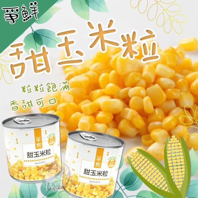 預購-爭鮮甜玉米粒罐頭 340g(一箱24罐)-11/4號中午12點結單