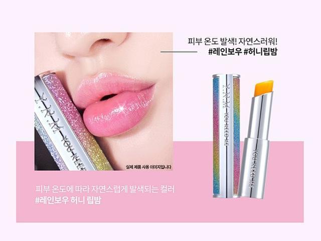 預購  韓國 YNM Rainbow Honey 星空溫感變色潤唇膏3.8g
