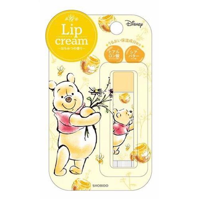 日本🇯🇵迪士尼 小熊維尼 護唇膏-6隻組