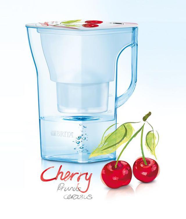 【現貨】德國 BRITA 2.3公升 Navelia若薇亞透視型濾水壺 櫻桃款