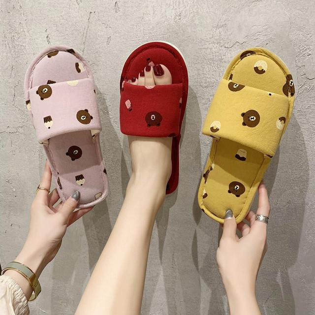 (預購)夏天可愛糖果色網红室内拖鞋