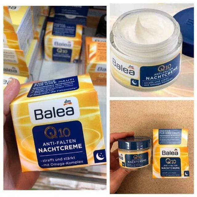 德國Balea Q10抗皺緊實補水「熬夜霜」