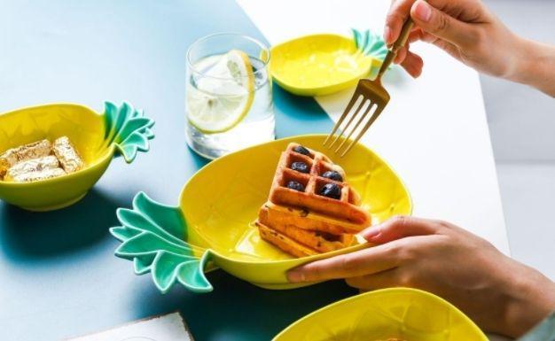預購商品 11/19結單 北歐風超可愛鳳梨餐盤