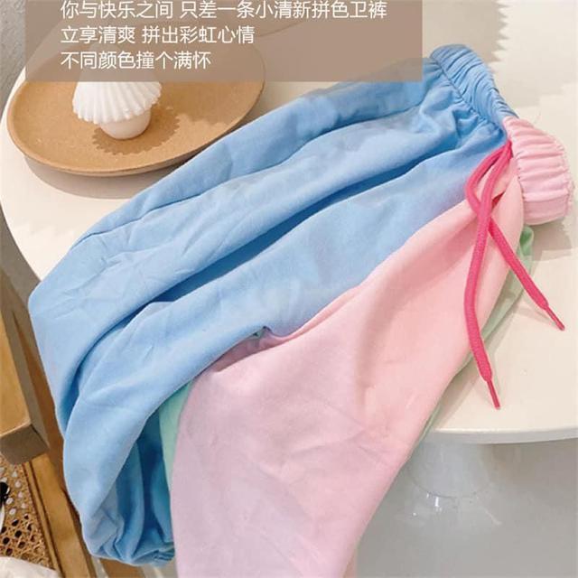 6/24可愛配色老爺褲-062302