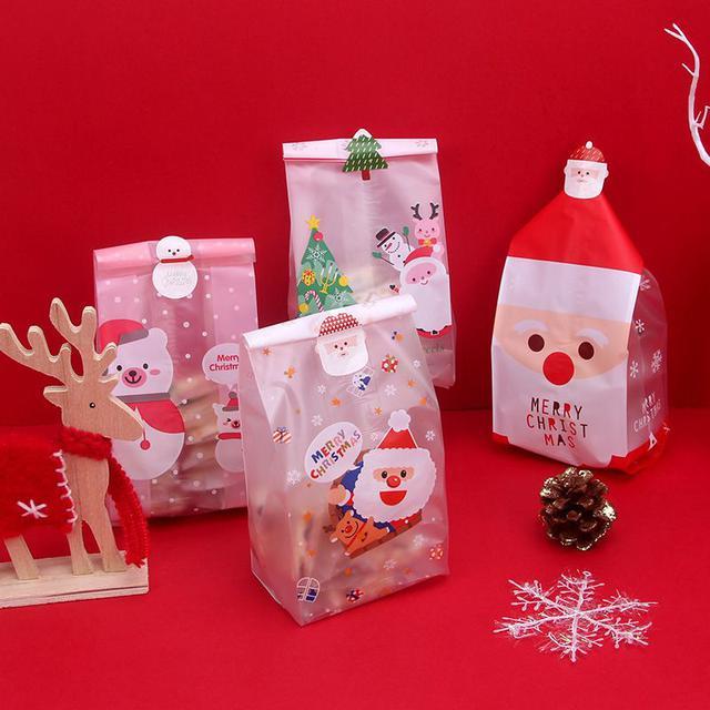 預購#聖誕節系列餅乾零食食品袋50只