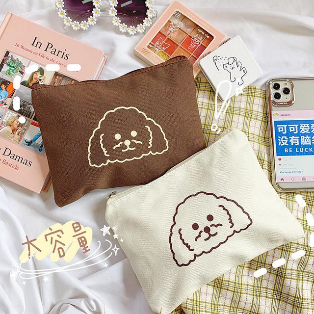 ✨小狗印花帆布包✨