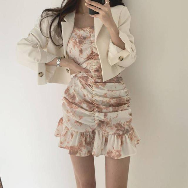 『預購』韓版荷葉邊洋裝