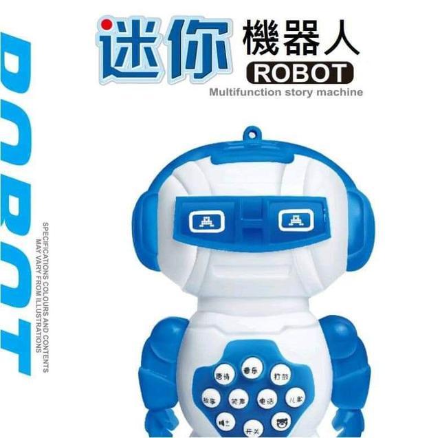 (預購S) 限量出清款兒童智慧機器人語音故事機