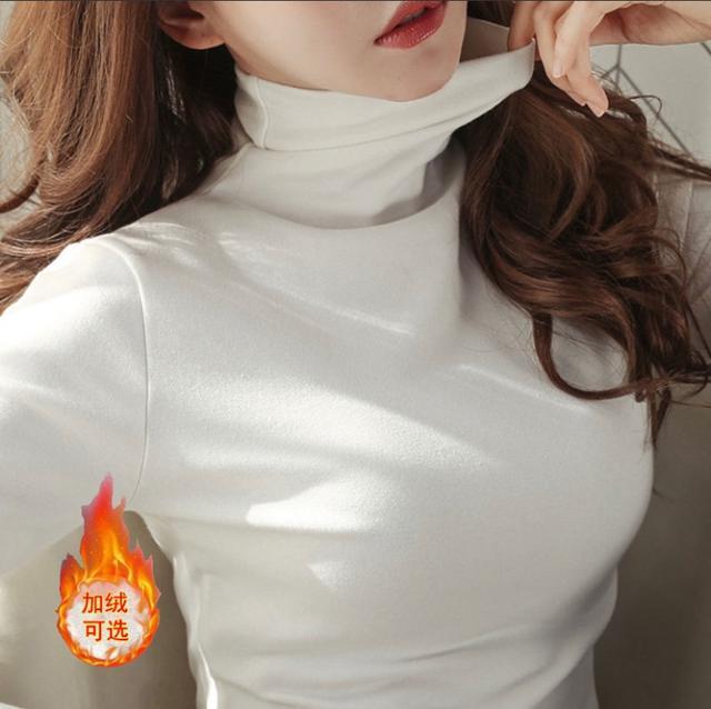 ✨秋冬必備✨高領顯瘦打底衫