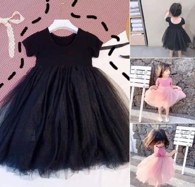 現貨🎀兒童素色紗裙洋裝