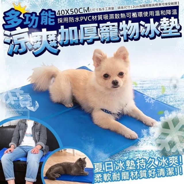 多功能涼爽加厚寵物冰墊-預購