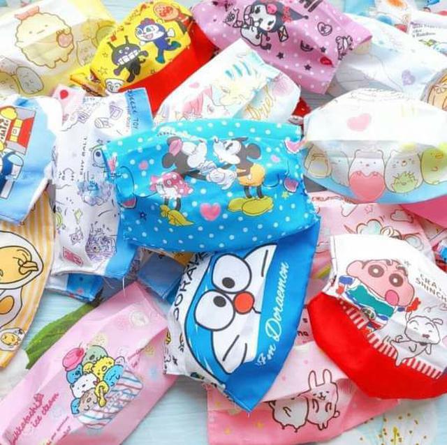 (預購S) 卡通可水洗口罩保護套(一組3個)