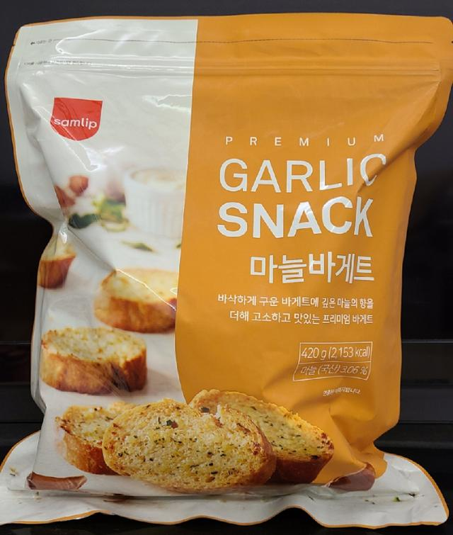 韓國Samlip大蒜麵包餅乾 420g
