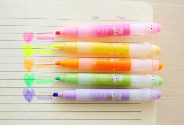 彩色螢光筆