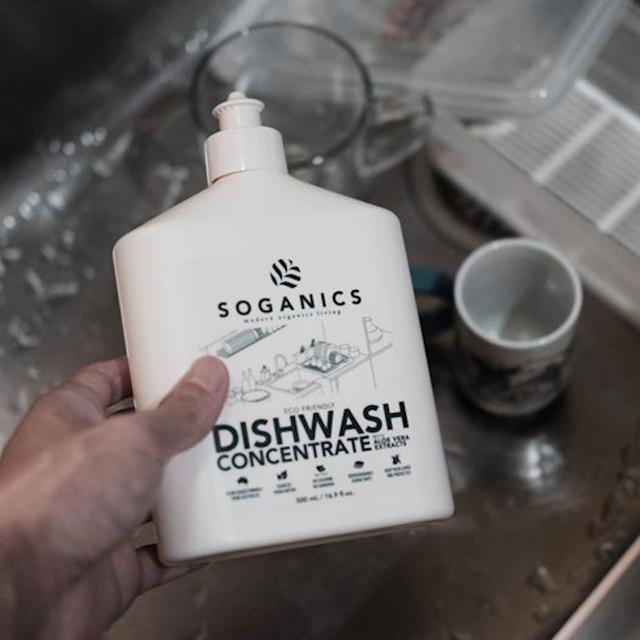 慕慕有機 天然有機 碗盤清潔劑 500ml