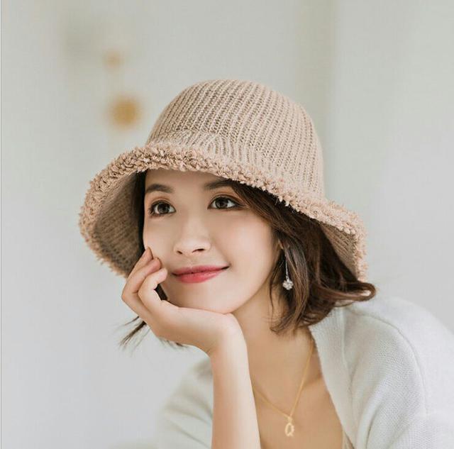 秋冬漁夫帽