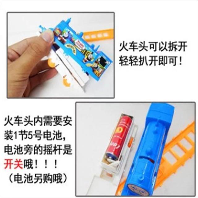 電動軌道小火車套裝模型物品熱賣經典電動玩具LSJ19073002