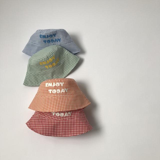 字母兒童漁夫帽