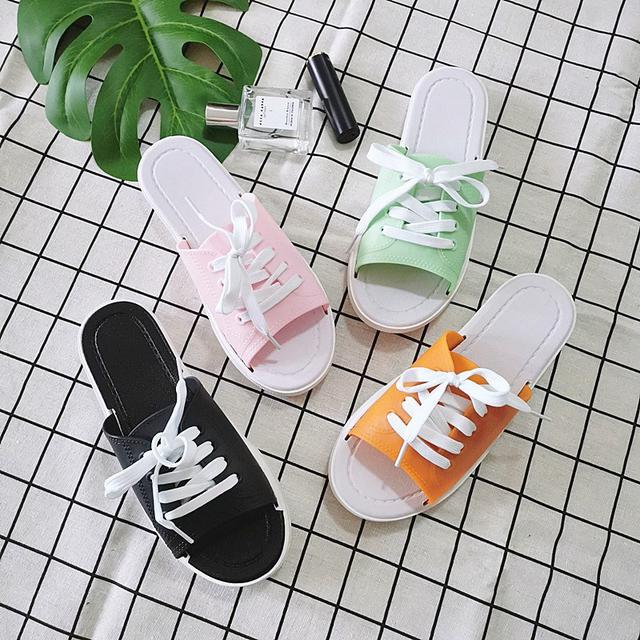 2/20-2/25 預購團 || 鞋帶型 可調節式拖鞋