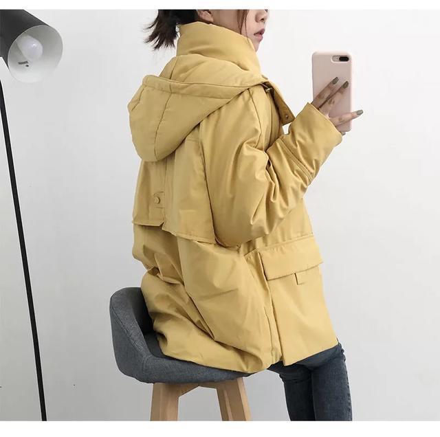 加厚棉襖冬季連帽外套