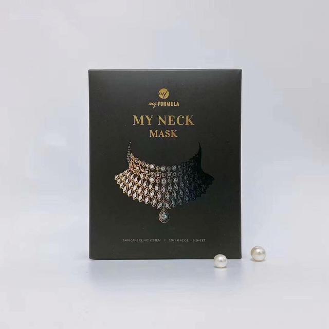 韓國My Neck 皺紋改善頸部專用頸膜 (一盒五片)