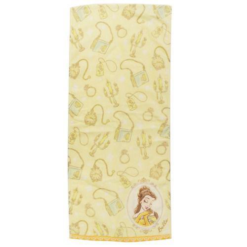 迪士尼公主 美女與野獸 毛巾