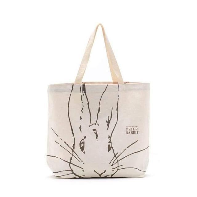 彼得兔帆布側背包