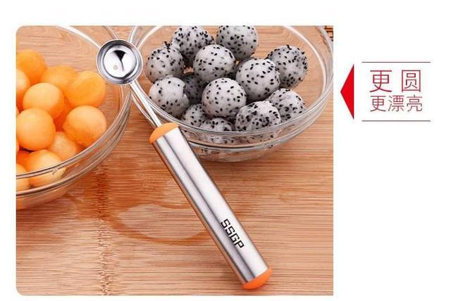 304不鏽鋼水果挖球器