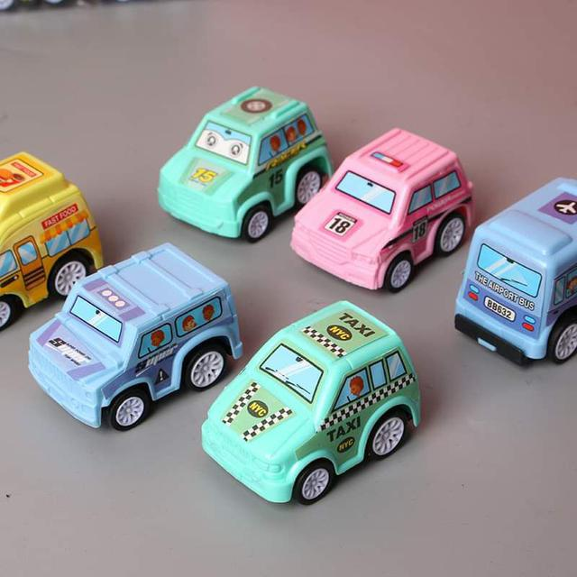 【預購】迴力小車6件組