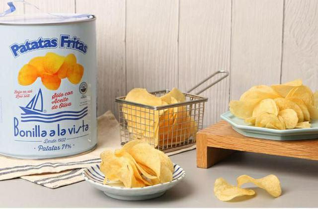 4/15收單-❤️Bonilla a la Vista油漆桶洋芋片洋芋片界的愛馬仕-275g!👑
