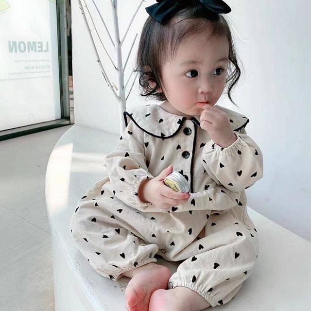 🔹秋季 嬰兒 寶寶 連身衣 包屁衣 長袖