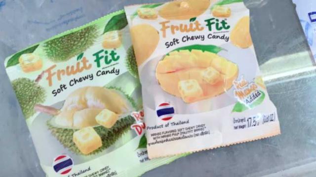 泰國水果果肉軟糖
