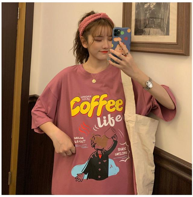 女棉t恤coffee