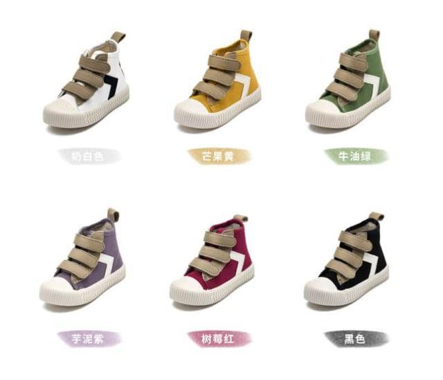 【預購】兒童中筒帆布鞋(請私訊告知鞋碼)