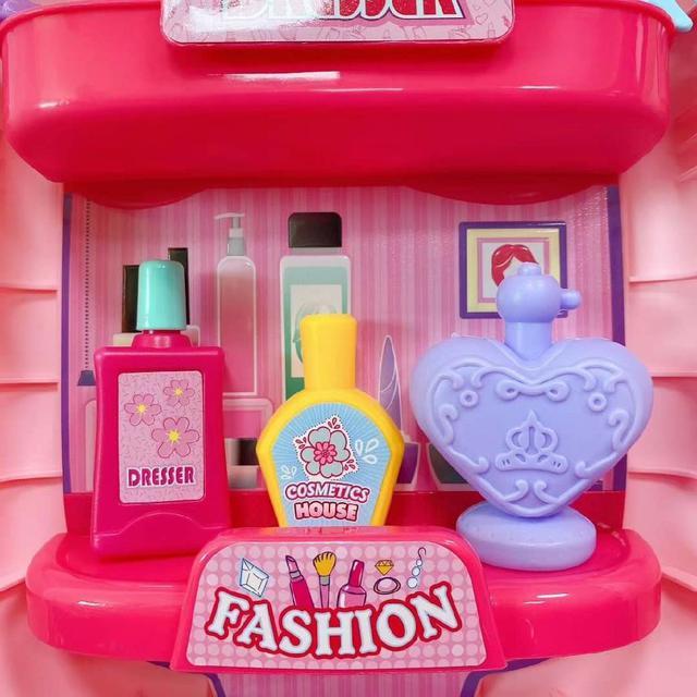 仿真手提時尚化妝盒玩具37件組