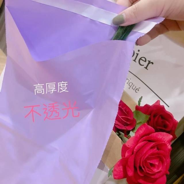 MIT 台灣製 破壞袋 快遞袋 20*30+4cm 紫羅蘭色 (100入)