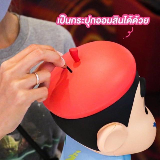 預購 泰國超限量限定蠟筆小新爆米花置物桶&飲料杯&手機架組