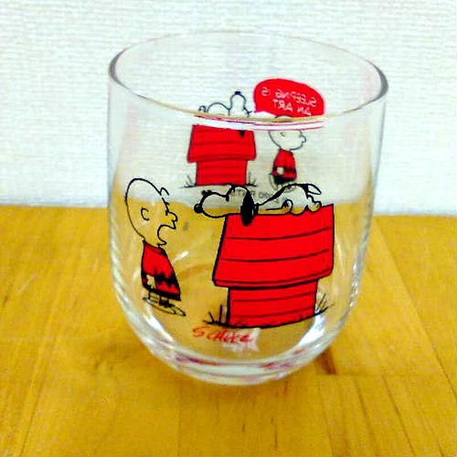 日本🇯🇵史努比 彩繪玻璃杯(3個組)