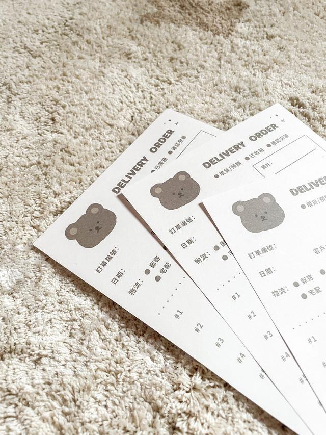出貨單-瑕疵品(100入)小熊款/抽象款