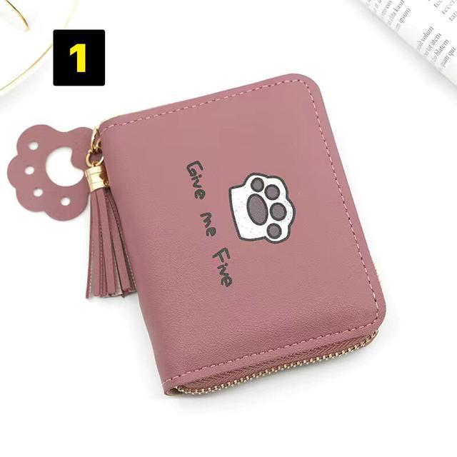 韓版短款錢包女時尚小清新女學生拉鍊硬幣包零錢包迷你小錢包卡包
