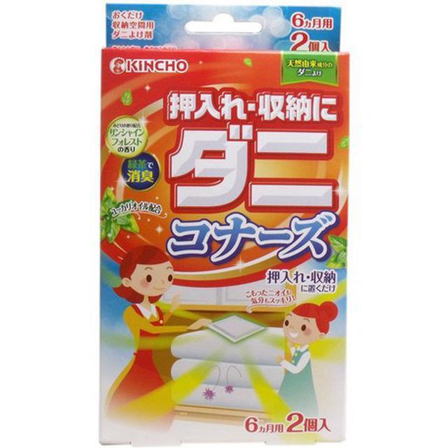 日本金雞綠茶消臭防蟎片衣櫥專用