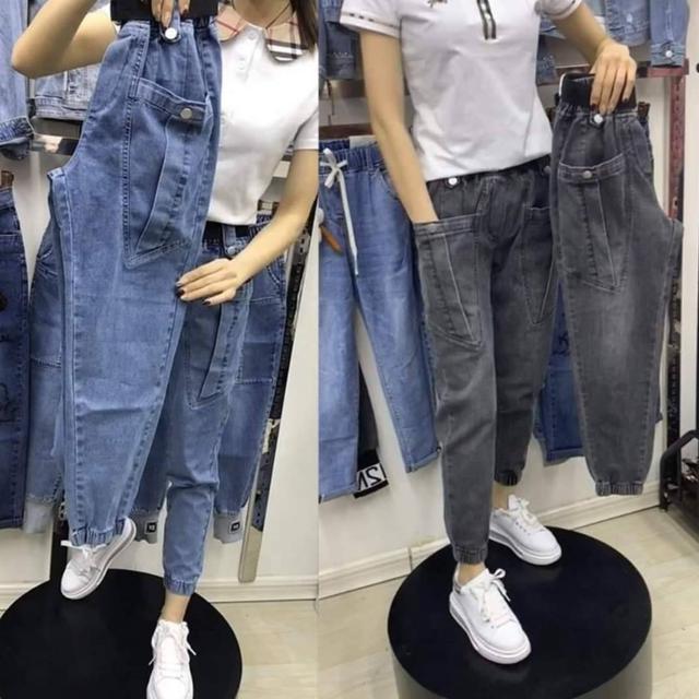 韓版百搭時髦老爹褲