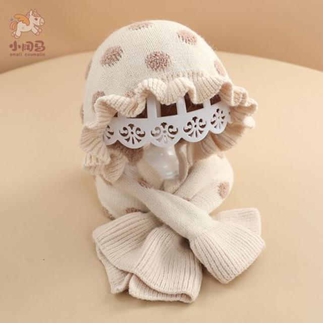 冬季可愛超萌毛線帽+圍巾(貝)