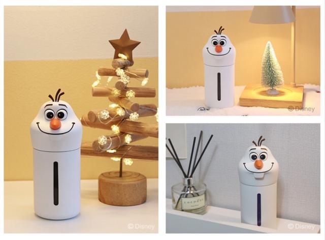 迪士尼正版✩冰雪奇緣可愛雪寶 #無線迷你LED加濕器