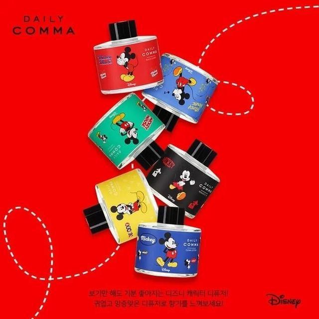 數量預購【Daily Comma X Mickey Mouse】限定版香氛擴香瓶 120ml-10/28中午12點結單
