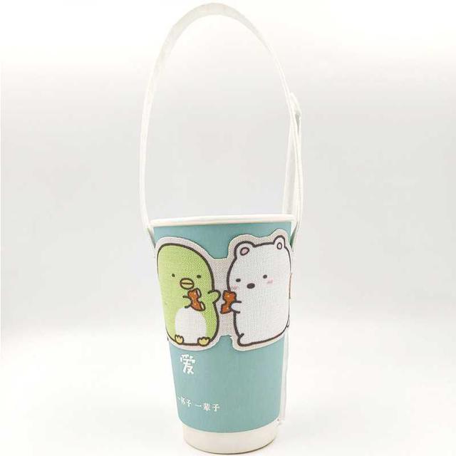 [雜貨店]💋環保角落生物飲料杯提帶(3個)