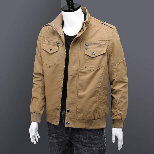 【預購】男性純棉工裝外套