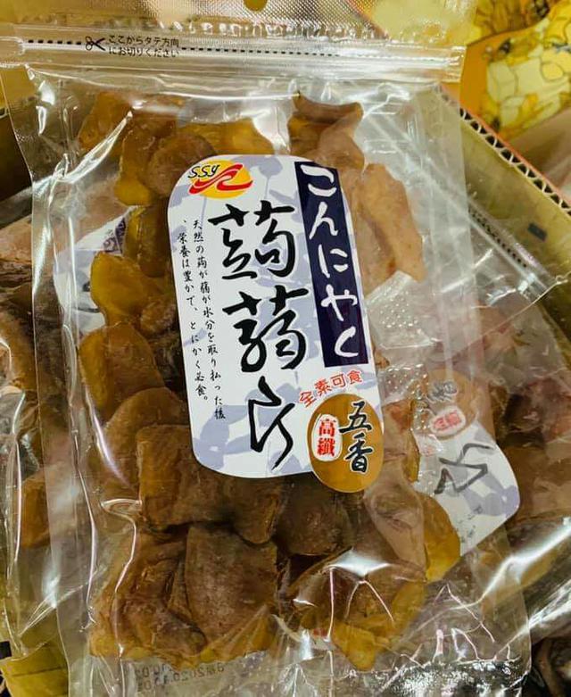 A3🔥高纖寒天五香蒟蒻片/150g