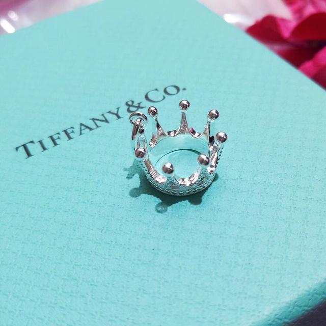 蒂芙尼TIFFANY 皇冠👑素银银项链