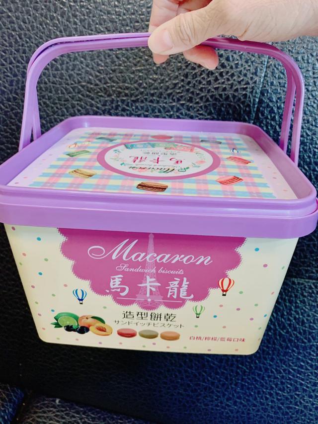 (預購)(C)少數限量-馬來西亞馬卡龍造型餅乾(共一箱)